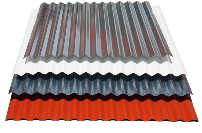 WAVY STEEL SHEETS PROFILE 76/18